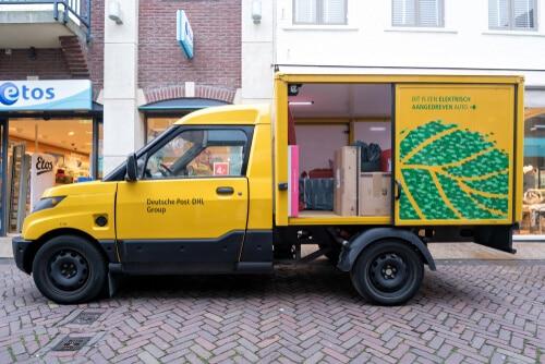 Streetscooter der Deutschen Post geht in Großserie