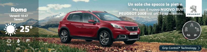 Dynamische Anzeigen bei Peugeot