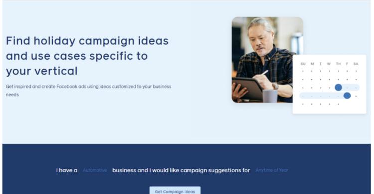 Facebook Campaign Webseite