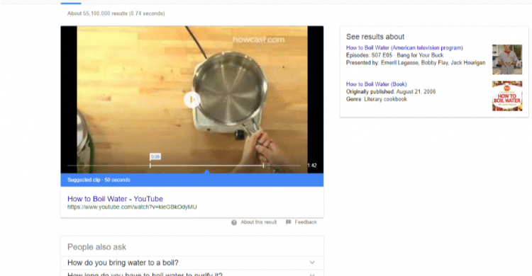 Featured Snippet Video
