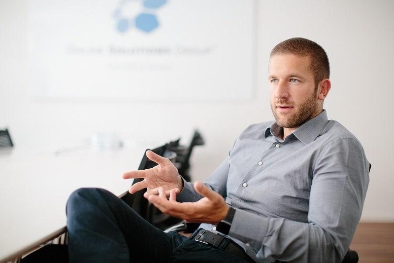 Florian Müller Geschäftsführer von der OSG