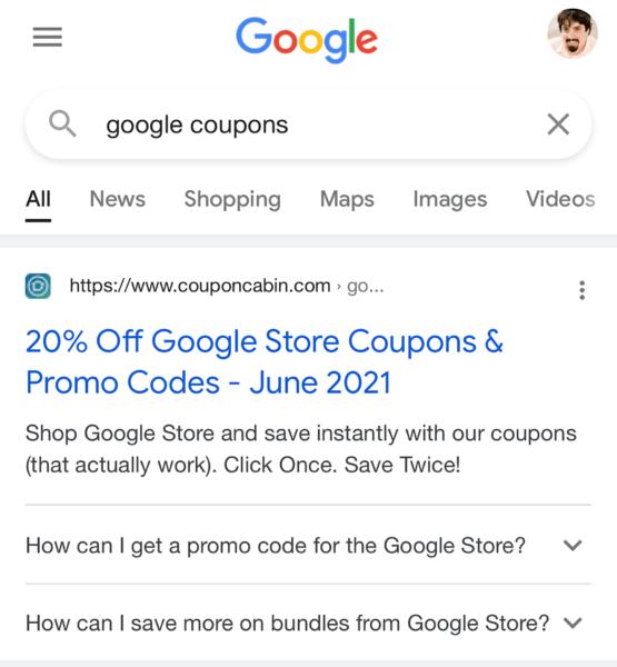 Google FAQ Rich Results