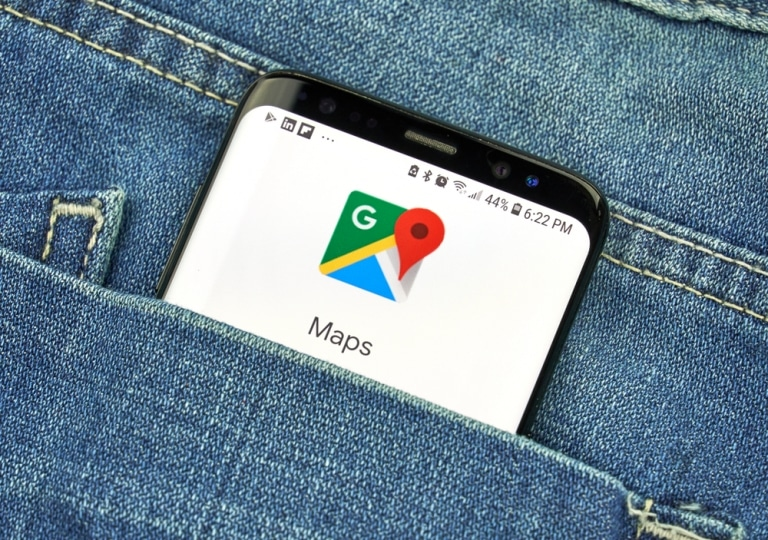 Google Maps mit neuem Messenger
