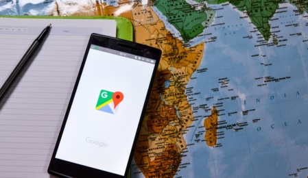 google maps new feature