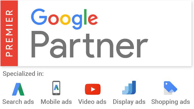 Google Partner Spezialisierungen