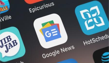 Google News & Wetter App heißt nun Google News