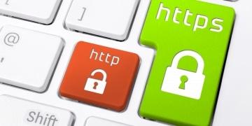 Tastatur mit https Logo