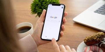 iPhone Google Startseite