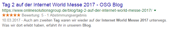 Indirekter CTA in einer Meta-Description