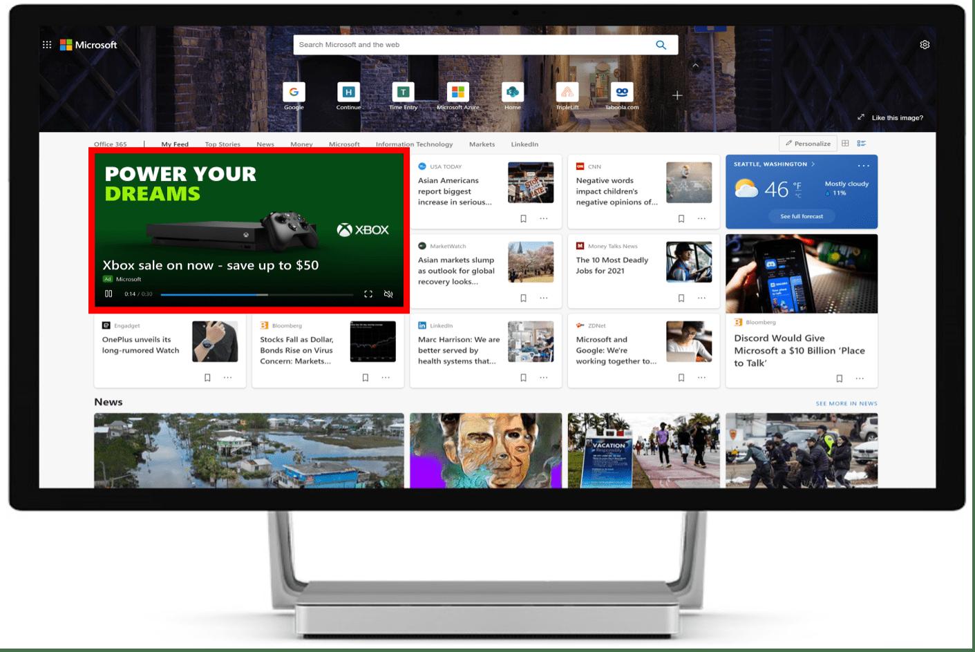 Microsoft Advertising: Neue Videoanzeigen im Audience Network