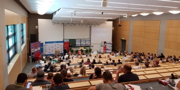 Audimax Uni Rostock beim MVpreneur Day 2018