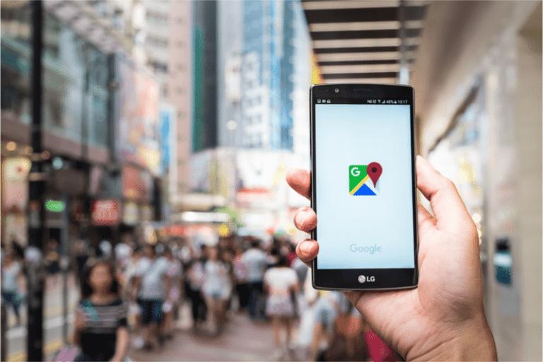Neue Google-Maps-Oberfläche