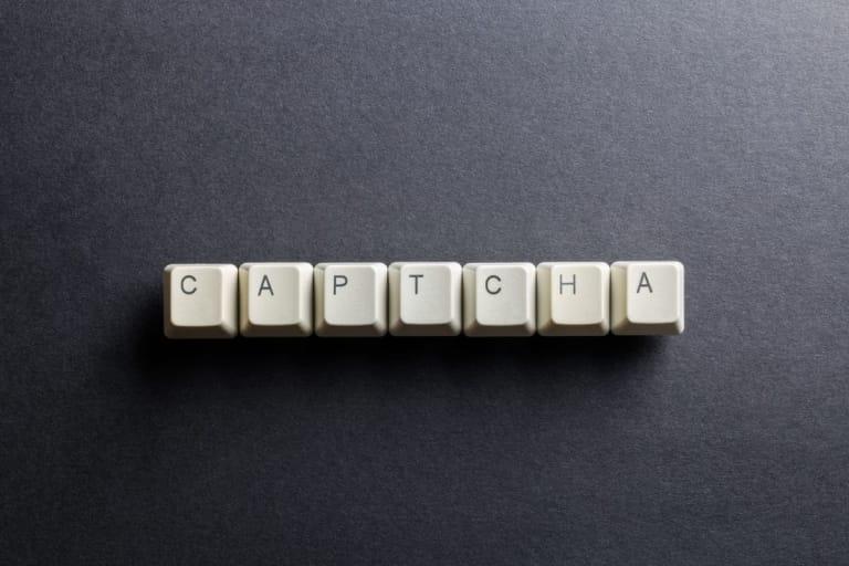 Captcha Buchstaben