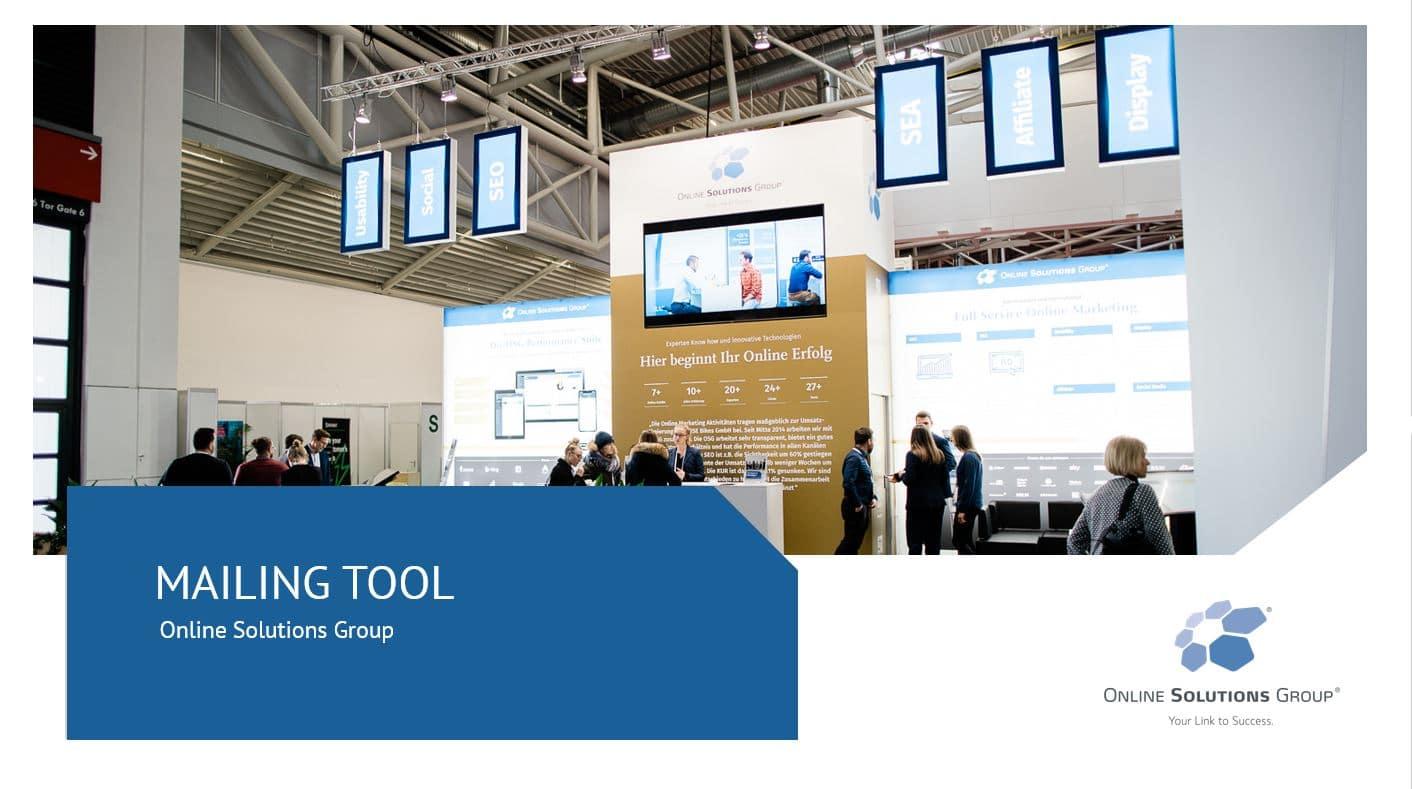 Bild zum OSG Mailing Tool