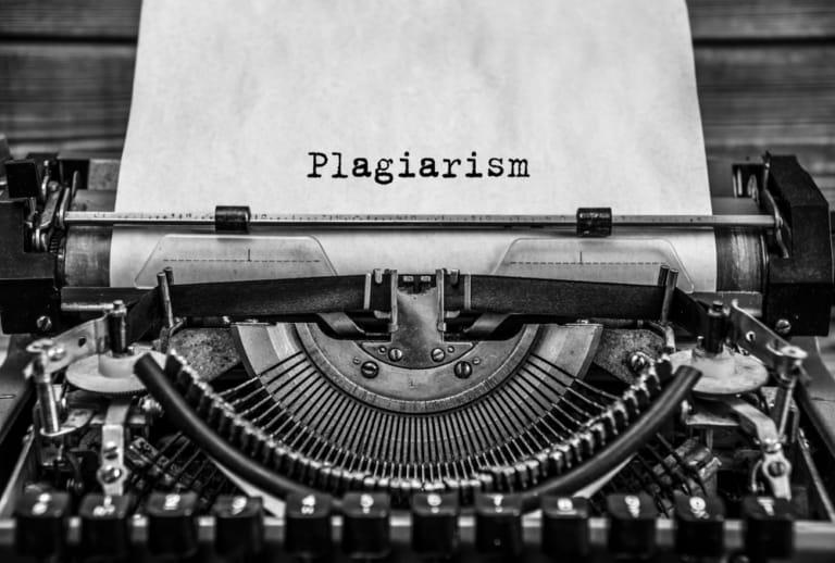 Schreibmaschine Plagiat