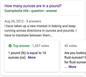 Google entwickelt neuen Rich Result Typ für F&A Seiten.