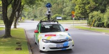 Google Street View Fahrzeug