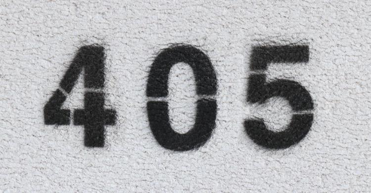 Statuscode 405