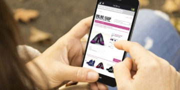 Online-Shopping am Black Friday