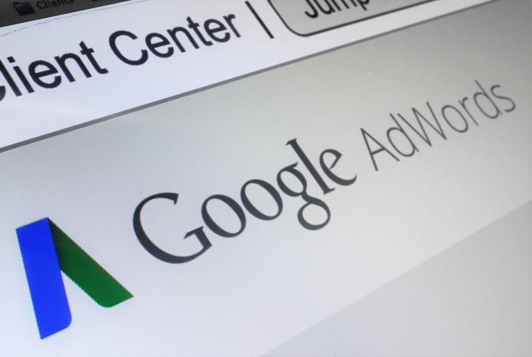 Google AdWords Anzeigenverlauf