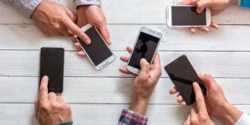 Smartphones Nutzer