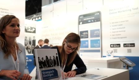 Der OSG Stand auf der Internet World