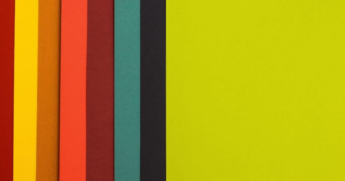 Wähle eine Farbpalette