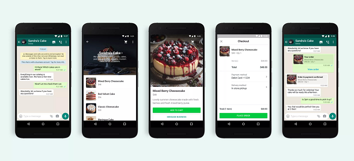 WhatsApp: neues Branchenverzeichnis