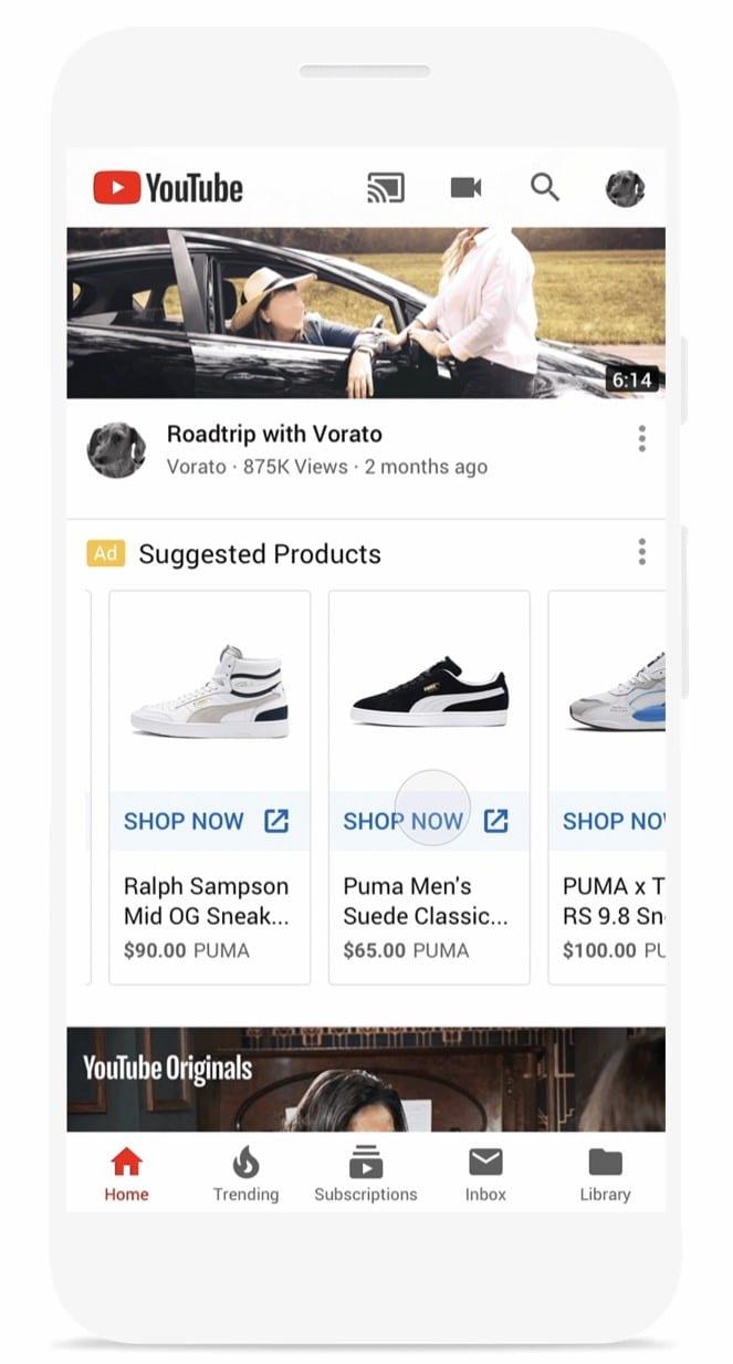 Shopping Anzeigen